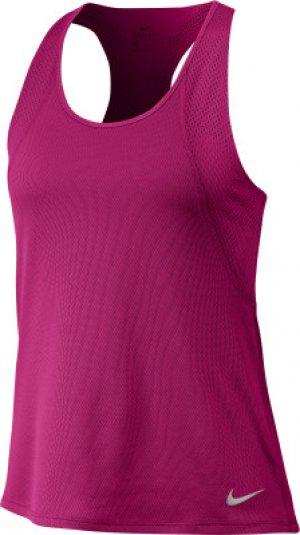 Майка женская , размер 48-50 Nike. Цвет: розовый