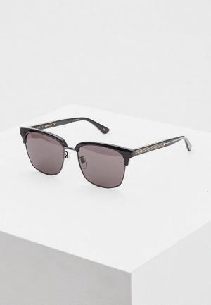 Очки солнцезащитные Gucci GG0382S001. Цвет: черный