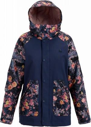 Куртка утепленная женская Eastfall, размер 42-44 Burton. Цвет: синий
