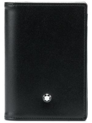 Cardholder wallet Montblanc. Цвет: чёрный