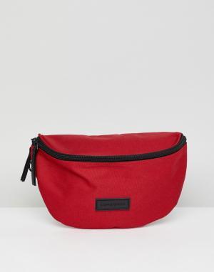 Красная сумка-кошелек на пояс Consigned. Цвет: красный