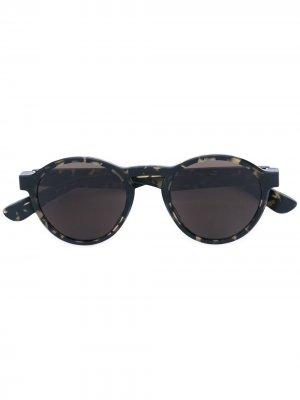 Солнцезащитные очки с круглой оправой x Maison Margiela Mykita. Цвет: черный