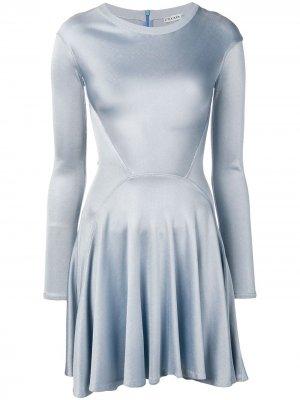 Платье мини Alaïa Pre-Owned. Цвет: синий
