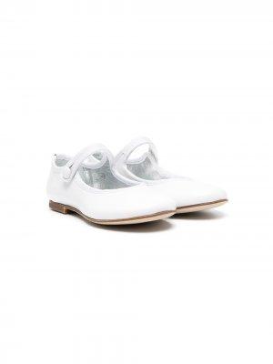 Туфли Мэри Джейн Gallucci Kids. Цвет: белый