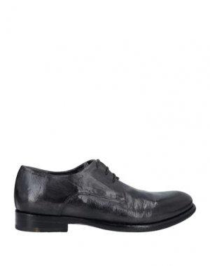 Обувь на шнурках ALEXANDER HOTTO. Цвет: черный