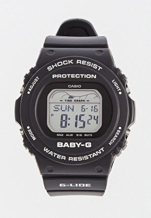 Часы Casio Baby-G BLX-570-1ER. Цвет: черный