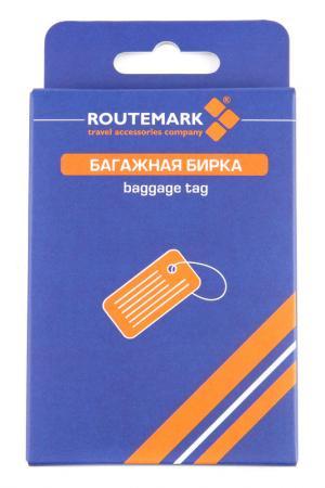 Бирка для багажа ROUTEMARK. Цвет: серый