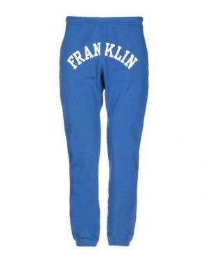 Повседневные брюки FRANKLIN & MARSHALL. Цвет: синий