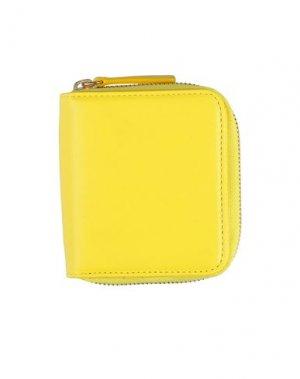 Бумажник ASPESI. Цвет: желтый