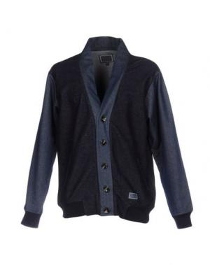 Куртка FRESHJIVE. Цвет: синий