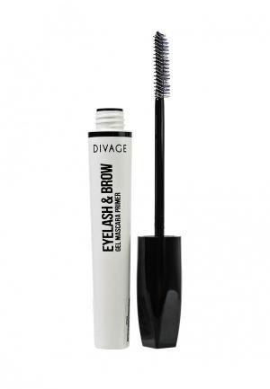 Основа под тушь Divage Eyelash&Brow Gel Mascara Primer. Цвет: белый