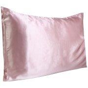 Silk Pillowcase - Queen (Various Colours) Pink Slip
