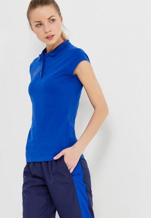 Поло ASICS WOMAN POLO. Цвет: синий