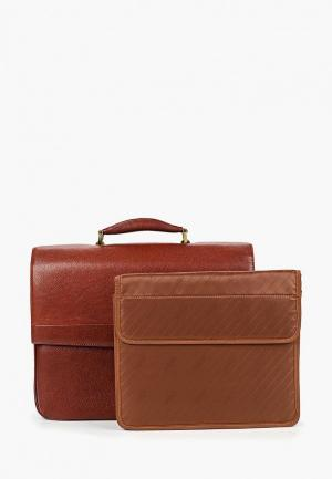 Портфель Dr.Koffer. Цвет: коричневый