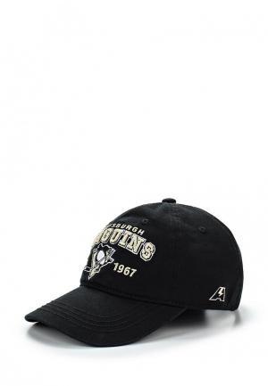 Бейсболка Atributika & Club™ NHL Pittsburgh Penguins. Цвет: черный