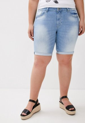 Шорты джинсовые Whitney. Цвет: голубой