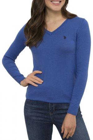 Пуловер U.S. Polo Assn.. Цвет: vr045 синий