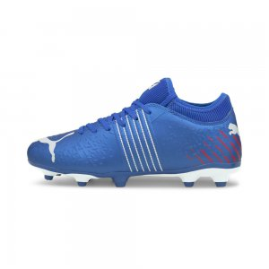Детские бутсы Future Z 4.2 FG/AG Youth Football Boots PUMA. Цвет: синий