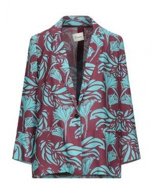 Пиджак DIXIE. Цвет: красно-коричневый