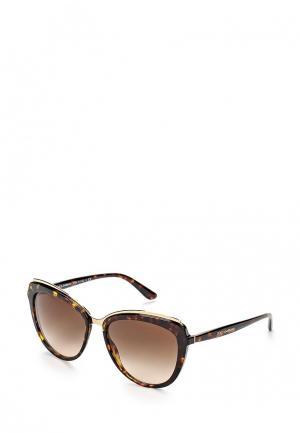 Очки солнцезащитные Dolce&Gabbana DG4304 502/13. Цвет: коричневый