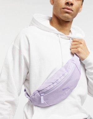 Фиолетовая выбеленная сумка-кошелек на пояс PUMA-Фиолетовый цвет Puma