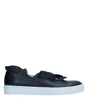 Низкие кеды и кроссовки AURORA. Цвет: черный