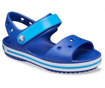 Сандалии детские CROCS ™ Crocband™ Sandal Kids Cerulean Blue/Ocean арт. 12856. Цвет: cerulean blue/ocean
