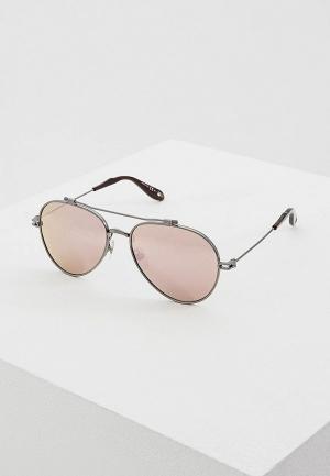 Очки солнцезащитные Givenchy GI007DUAYEI3. Цвет: серый