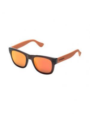 Солнечные очки HAVAIANAS. Цвет: темно-коричневый