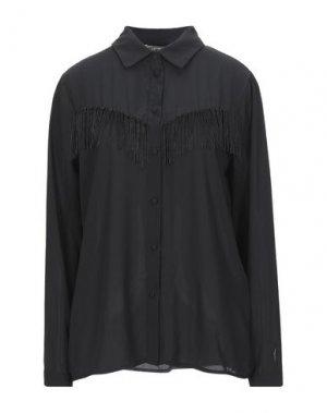 Pубашка PLEASE. Цвет: черный