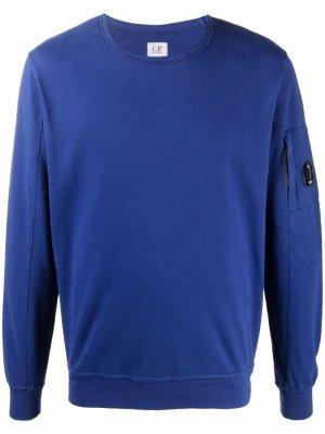 Crew-neck knit jumper C.P. Company. Цвет: синий
