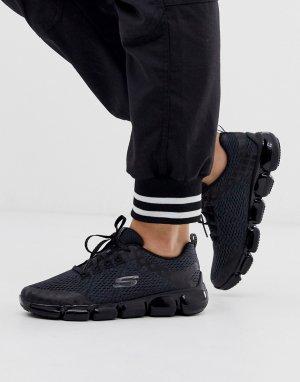 Черные кроссовки Skech 92-Черный Skechers