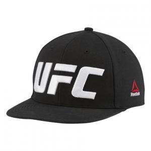 Кепка UFC Flat Peak Reebok. Цвет: black