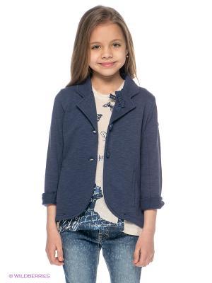 Пиджак 02 TANDEM. Цвет: синий