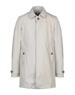 Легкое пальто ADHOC. Цвет: светло-серый