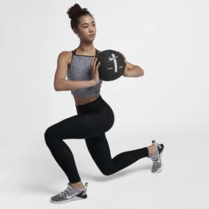 Женские тайтсы с высокой посадкой Seamless Nike. Цвет: черный