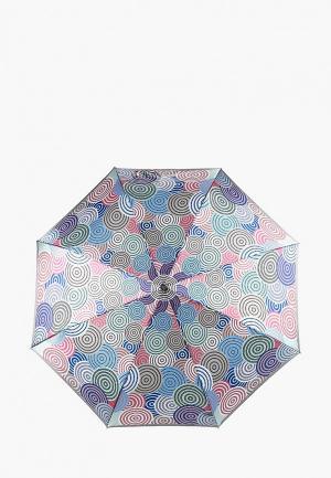 Зонт складной Fabretti. Цвет: разноцветный