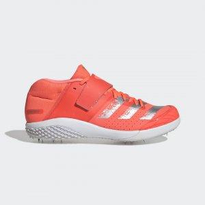 Шиповки для легкой атлетики adizero javelin Performance adidas. Цвет: белый