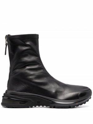 Zip-up ankle boots Givenchy. Цвет: черный