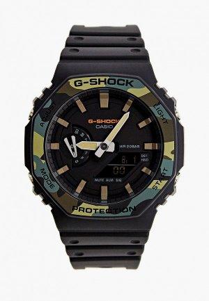 Часы Casio G-SHOCK GA-2100SU-1AER. Цвет: черный