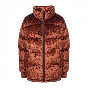 Пуховая куртка Moose Knuckles. Цвет: коричневый