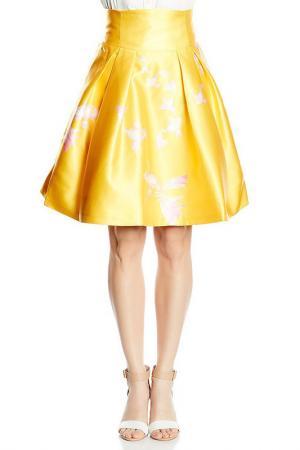 SKIRT Isabel Garcia. Цвет: yellow and pink
