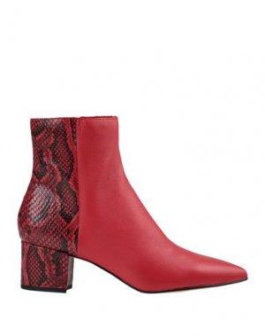 Полусапоги и высокие ботинки DOLCE VITA. Цвет: красный