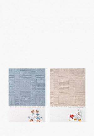 Набор полотенец кухонных Bellehome Goose Family, 40х70 см