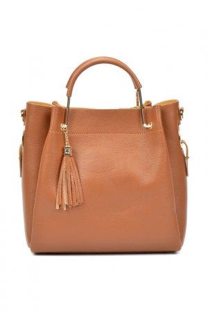 Bag CARLA FERRERI. Цвет: brown