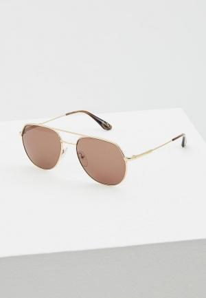 Очки солнцезащитные Prada PR 55US 5AK8C1. Цвет: золотой