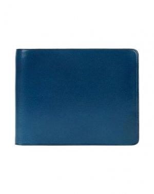 Бумажник IL BUSSETTO. Цвет: ярко-синий