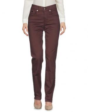 Повседневные брюки MARANI JEANS. Цвет: какао