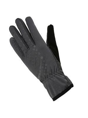 Перчатки WINTER PERFORMANCE GLOVES ASICS. Цвет: серый, черный