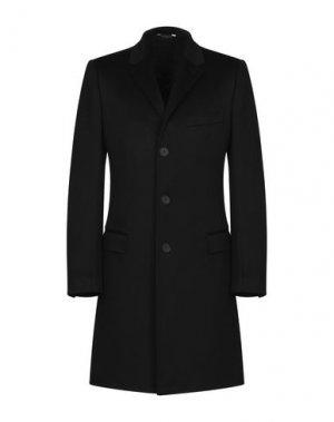 Пальто AZZARO. Цвет: черный
